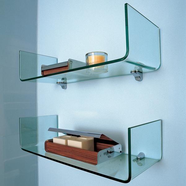 13 Astounding Small Glass Bathroom Shelf Snapshot Ideas Interior