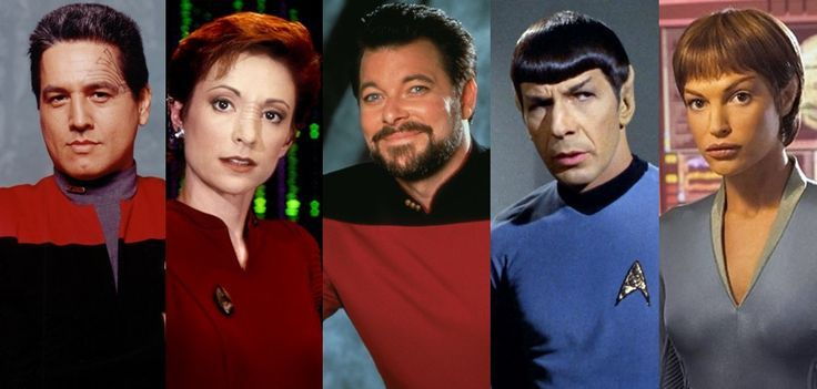 star trek first officers | Star Trek First Officers | Film star trek, Star  trek series, Star trek