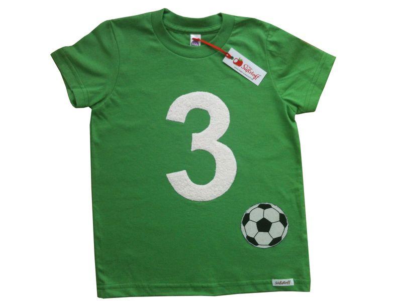 Geburtstagsshirt+für+Fußballer,+Zahl,++von+Mein-Süßstoff+auf+DaWanda.com