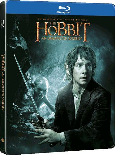 The Hobbit: An Unexpected Journey - Limited Edition Steelbook (Exclusive to Amazon.co.uk) [Blu-ray + UV Copy] [Region Free] | ASIN: B00BC0501Q | Release Date: 8 April 2013 in UK