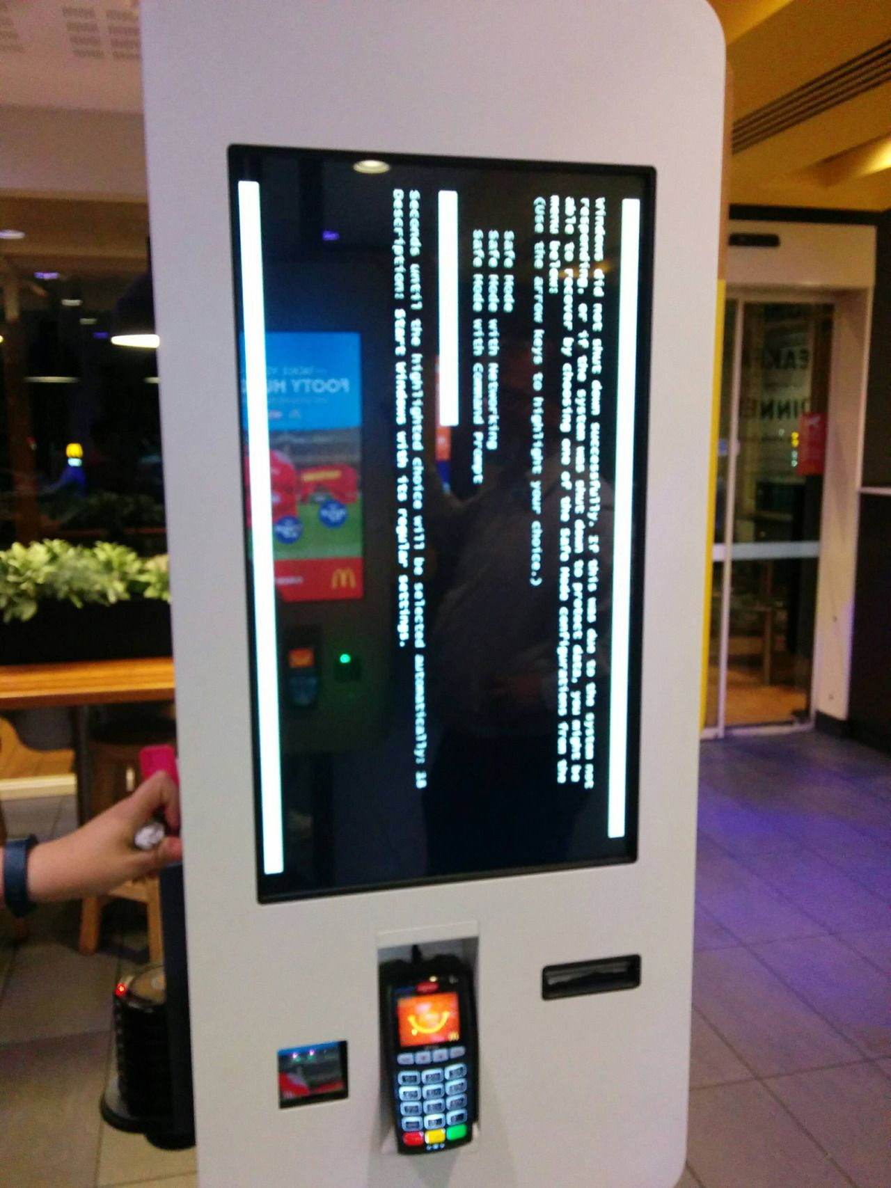 Mcdonalds Touch Screen Ordering System Bsod Pbsod