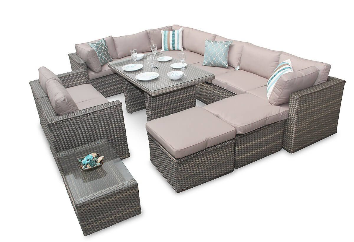 Durable Rattan Corner Sofas Corner Sofa Garden Furniture Rattan Corner Sofa Furniture Sofa Set