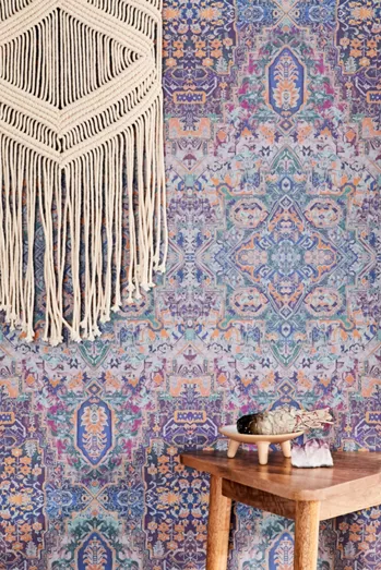 Entryway Decor Wall Art Mirrors Multi Hooks More Urban Outfitters Removable Wallpaper Stick On Wallpaper Boho Wallpaper