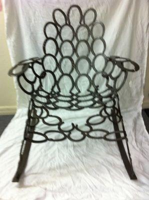 Lucky Horseshoe Chair
