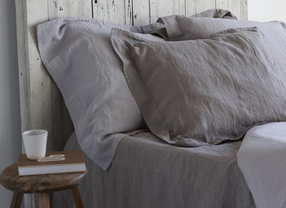 Linnen Dekbed Slaapkamer : House in style dekbedovertrek saint remy antraciet linnen textiel
