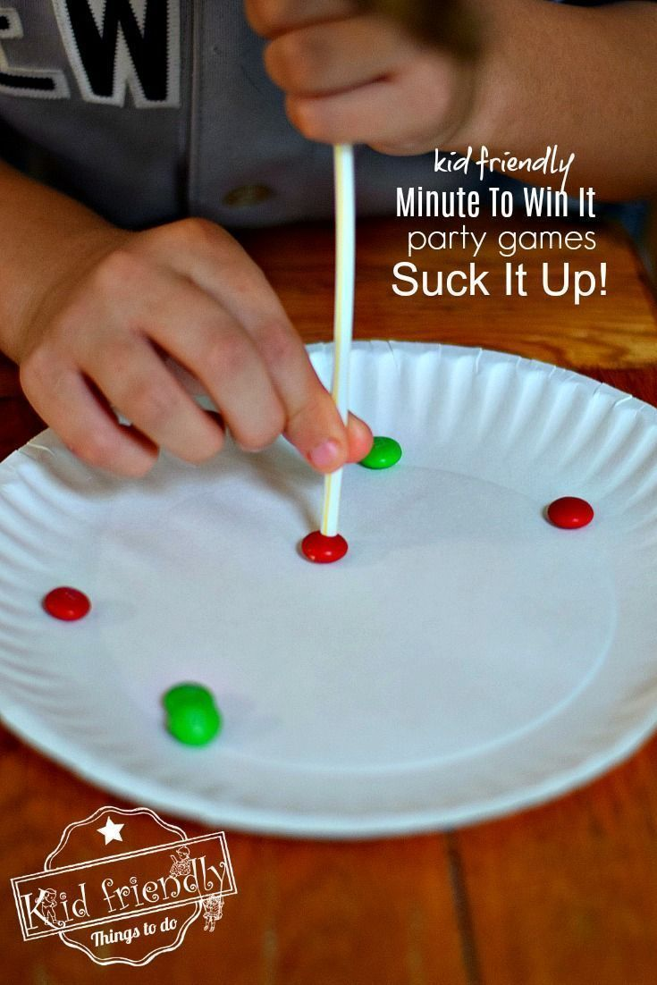 Minute To Win It Christmas Games for the Whole Family | Kid Friendly Things To Do