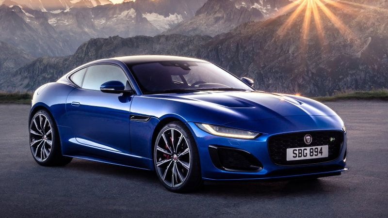 2021 Jaguar F Type Sees The Light With Styling Handling Updates Jaguar F Type Jaguar Sport New Jaguar