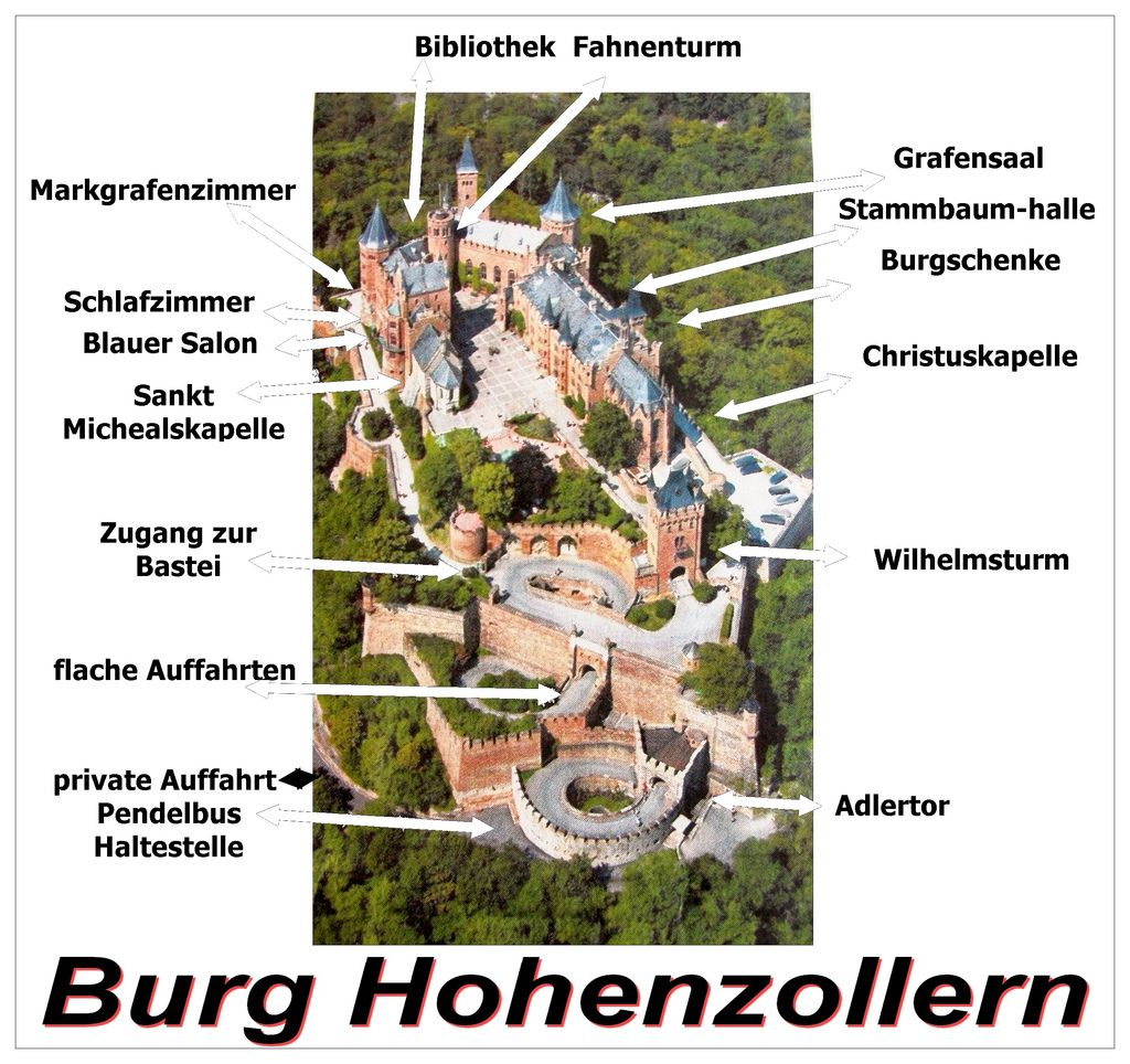 Bildergebnis Fur Burg Hohenzollern Hohenzollern Castle Castle Layout Castle