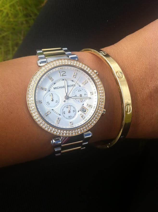 1d5618d9fd30 Love this Michael Kors Parker MK5626 watch!!