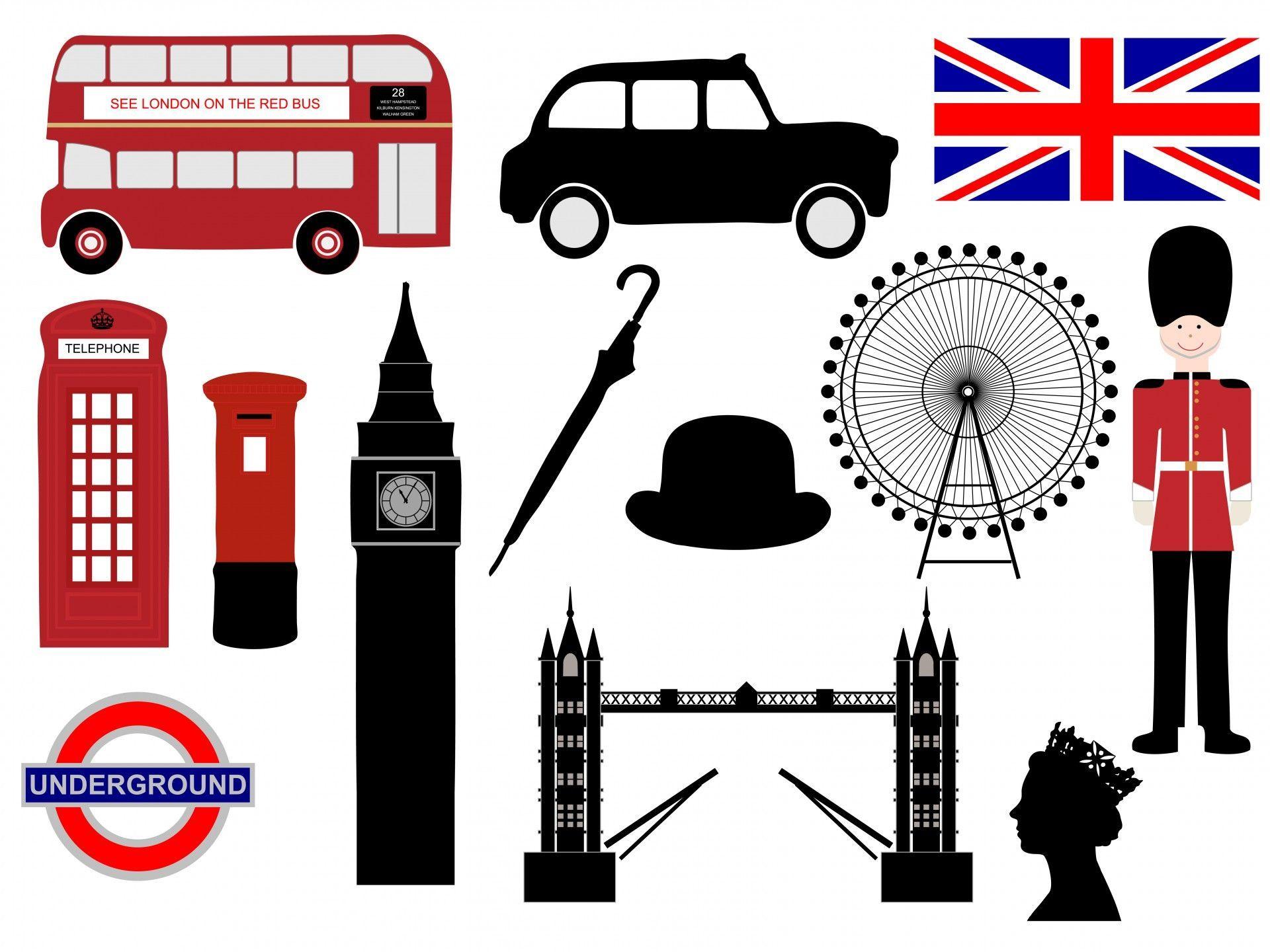 London iconos Clipart London icons, London theme, Clip art