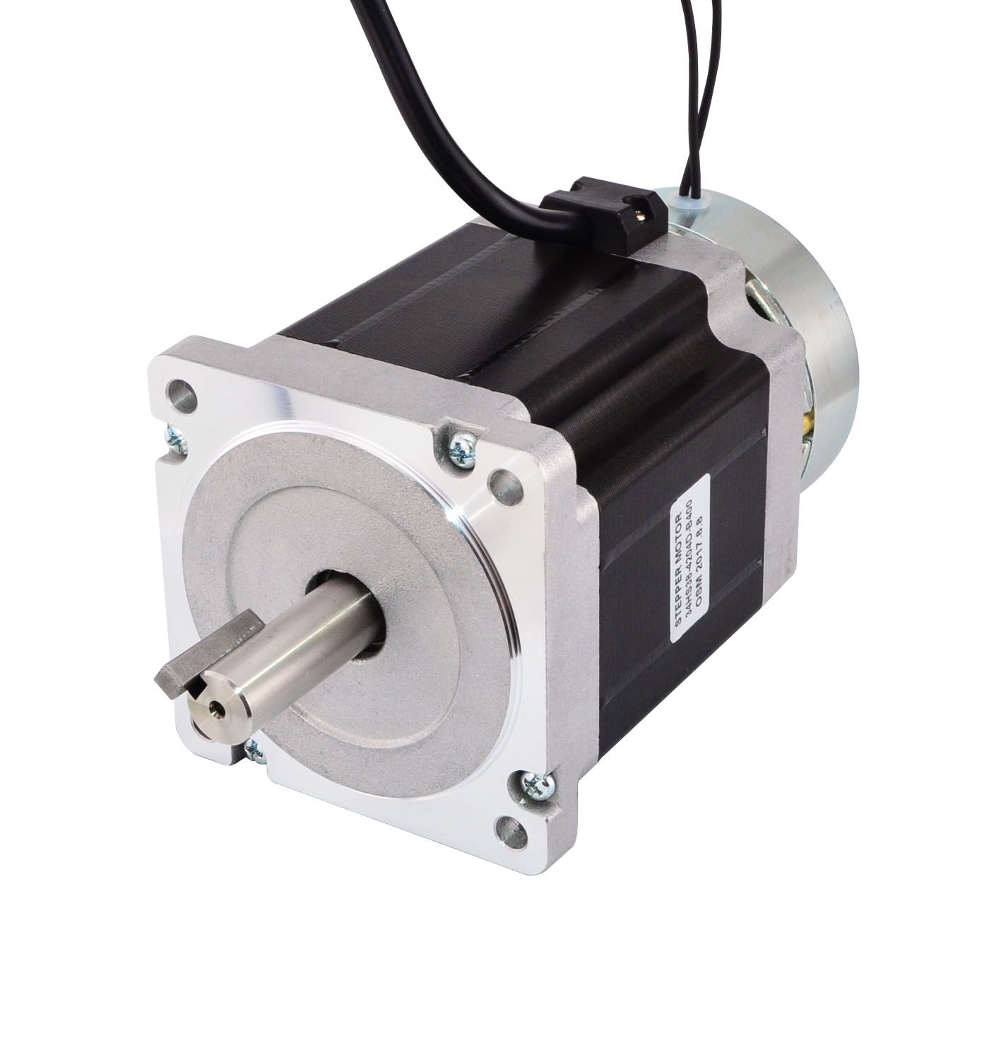 Stepper Motor With A Brake Stepper Motor Steppers Electronic Products