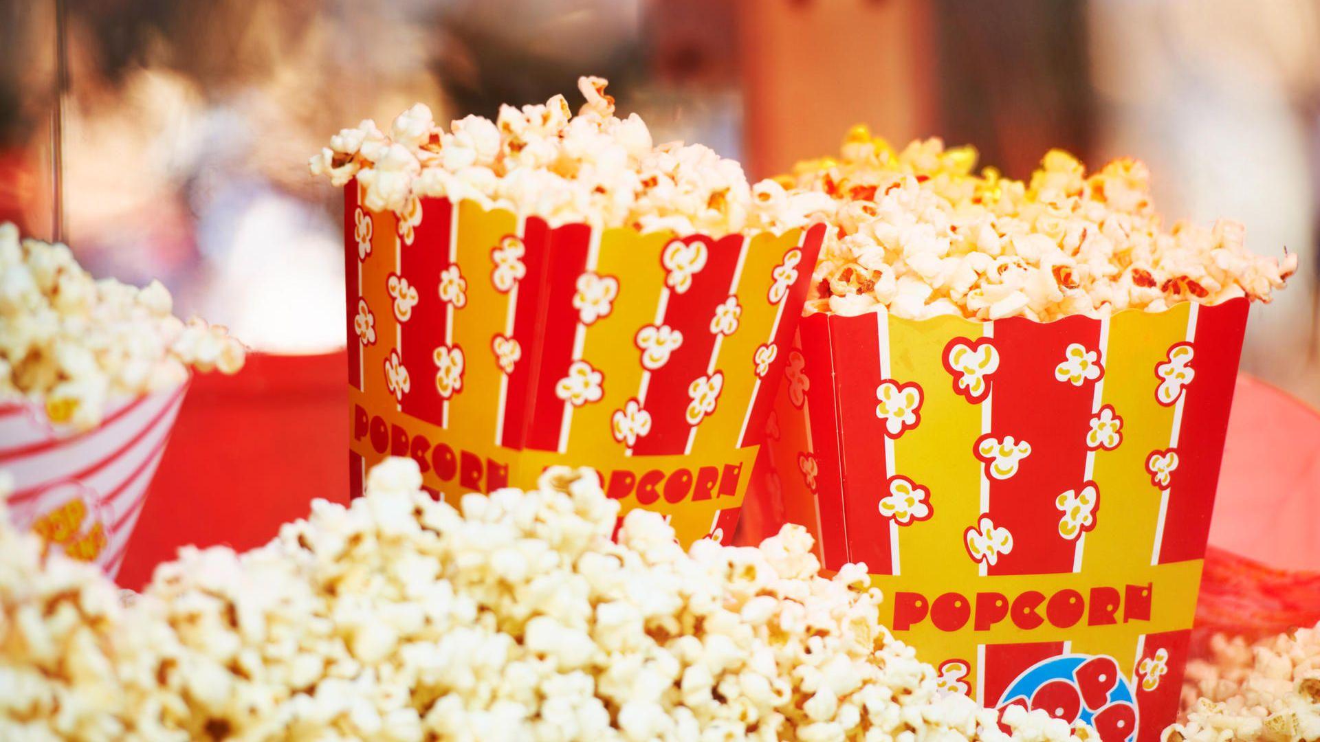 Fünf Popcorn-Maschinen im Vergleich