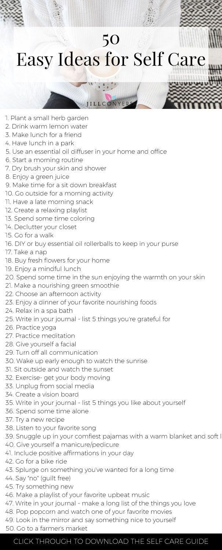 Einfache Methoden zur Selbstpflege für einen gesunden Körper und Geist   – Self Care
