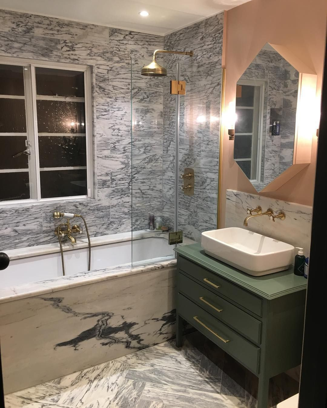 Hampstead Project S New Bathroom Build Tiling Marble Ofdevizes Calacatta Tigre Refurbishment Renovation