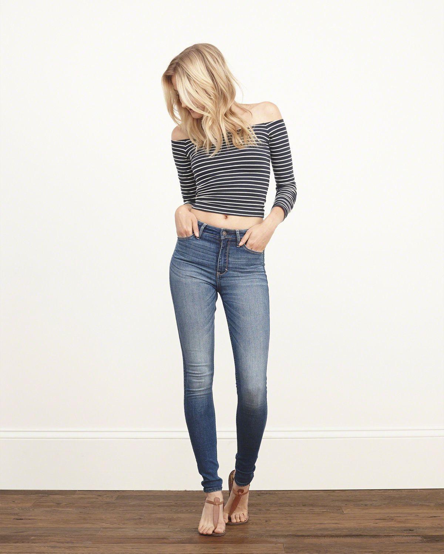 39Para mujer de gran altura Super Skinny Jeans  420f85d5387