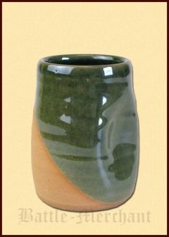 Historical Cup 'Dellenbecher' from clay, 0.25l