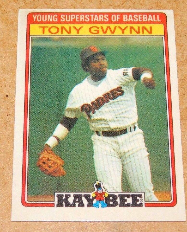 1986 Kaybee Insert Card 17 Tony Gwynn San Diego Padres