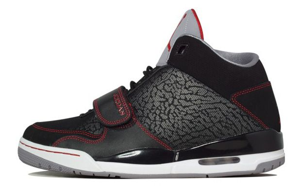 Jordan Flight Club 90 Black/Gym Red-Cement Grey - NikeBlog.com
