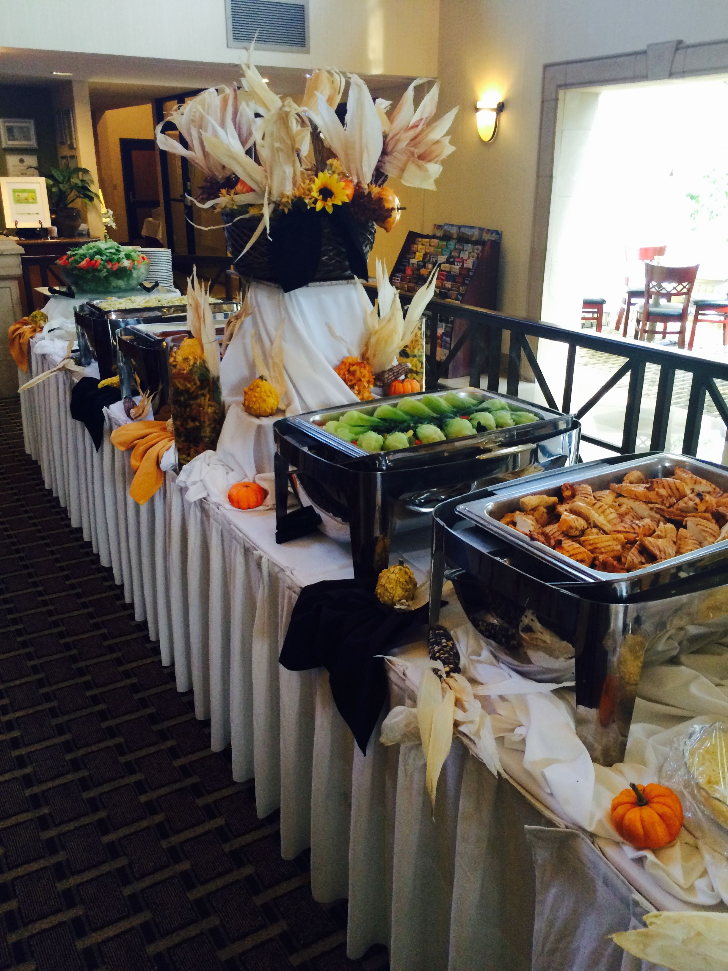 Fall Themed Buffet At The Holiday Inn Orange County Airport