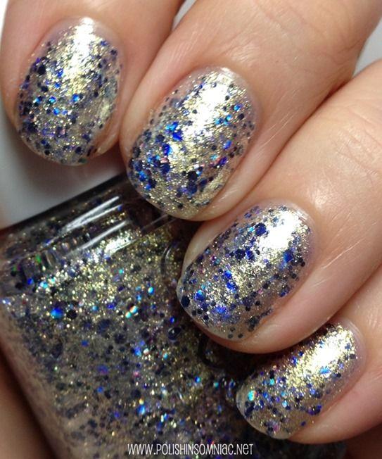 Essie Gold Nail Polish: Essie On A Silver Platter
