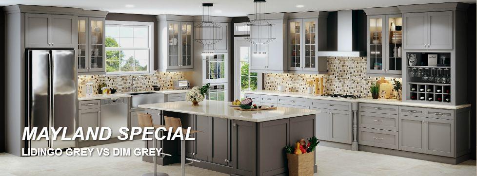Awesome Semi Custom Kitchen Cabinets | Mayland Cabinets