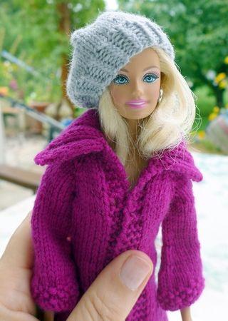 Strickanleitung: Strickjacke und Mütze für kleine Puppen   куклы ...