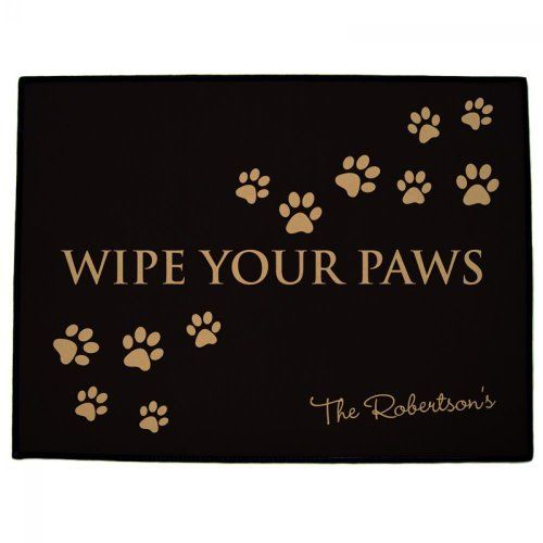 Wipe Your Paws Quot Quot Door Mats Quot By 121 Personal Gifts 24 95