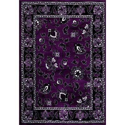 persianrugs purple area rug u0026 reviews wayfair