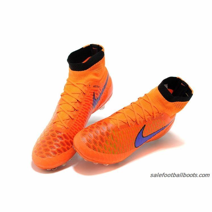 Nike Magista Obra AG Green Orange $107.99