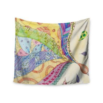 KESS InHouse The Painted Quilt by Catherine Holcombe Wall Tapestry Size: