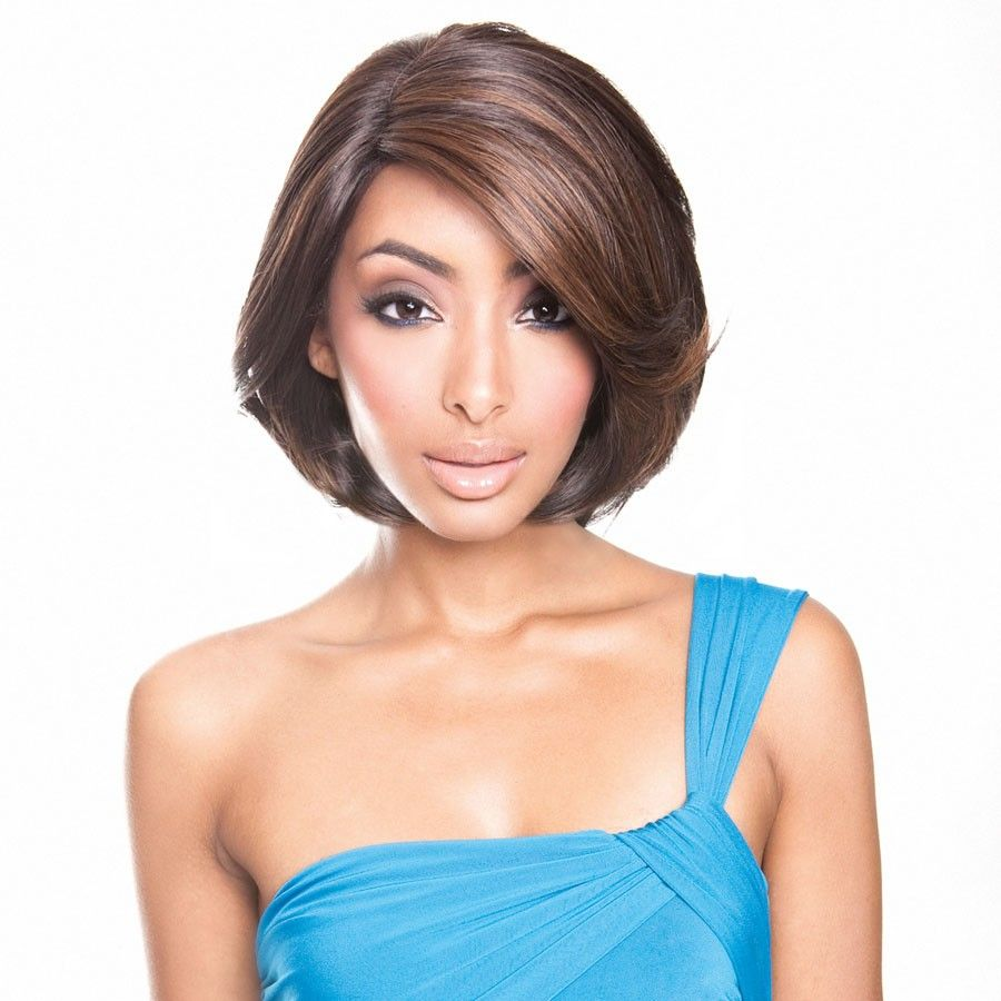 Everyday low price brown sugar soft swiss lace front wig