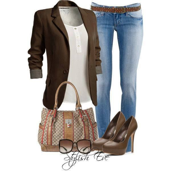This is an outfit you would see me wearing. This is how I dress.