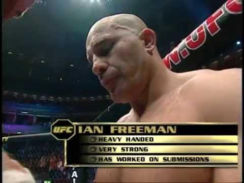 "Ian ""The Machine"" Freeman v Frank Mir"