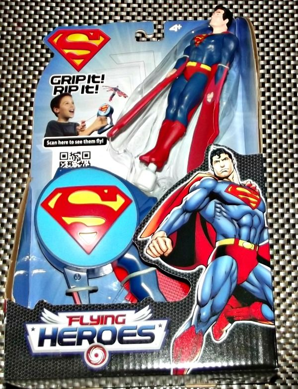 Image result for FLYING HEROES SUPERMAN LAUNCHER