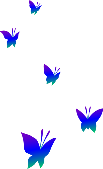 Purple Blue And Green Butterflies Free Clip Art Free Clip Art Butterfly Clip Art Clip Art