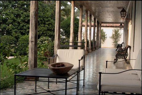 Boutique Hotel Casa Silva.. terrace. Colchagua Ruta del