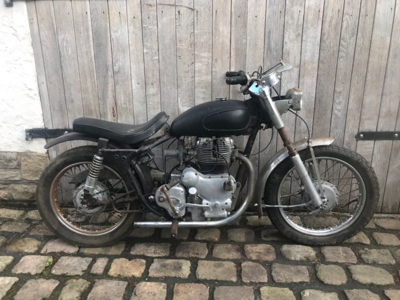 Royal Enfield Indian Apache 700cc Classic 1968 Project Bike