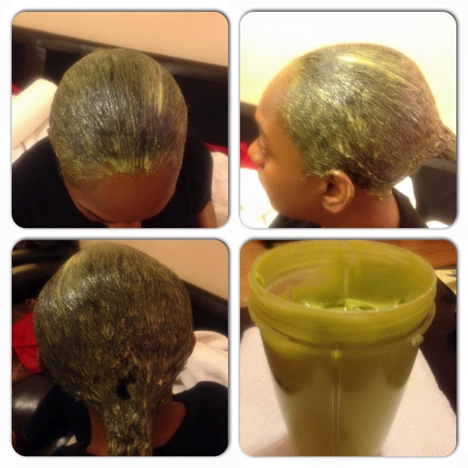 DIY conditioner  avocado egg honey and coconut oil My hair