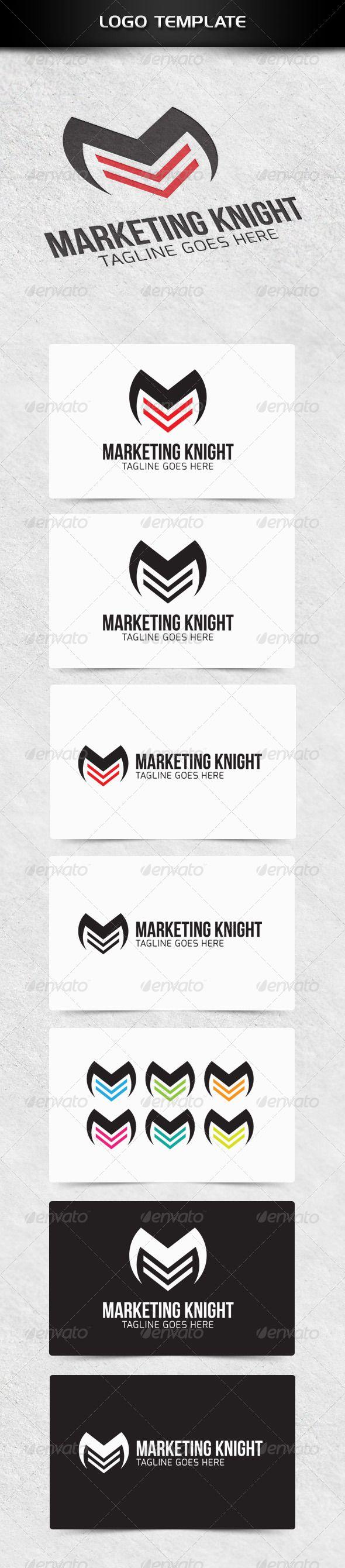 Marketing Knight Pinterest Knight Logo templates and Fonts