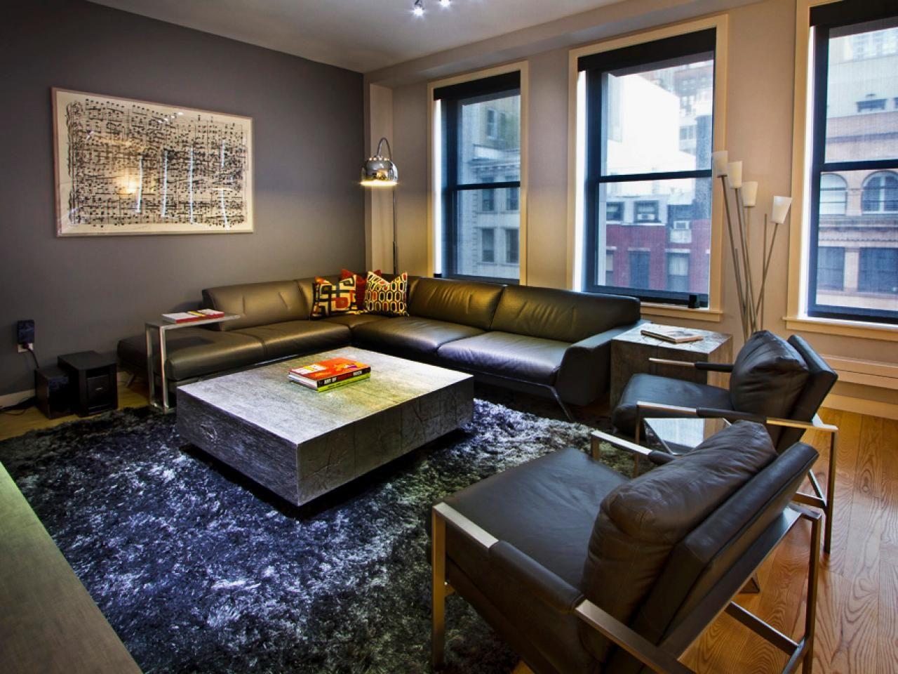 yellow  gray master bedroom  paisley mcdonald  hgtv