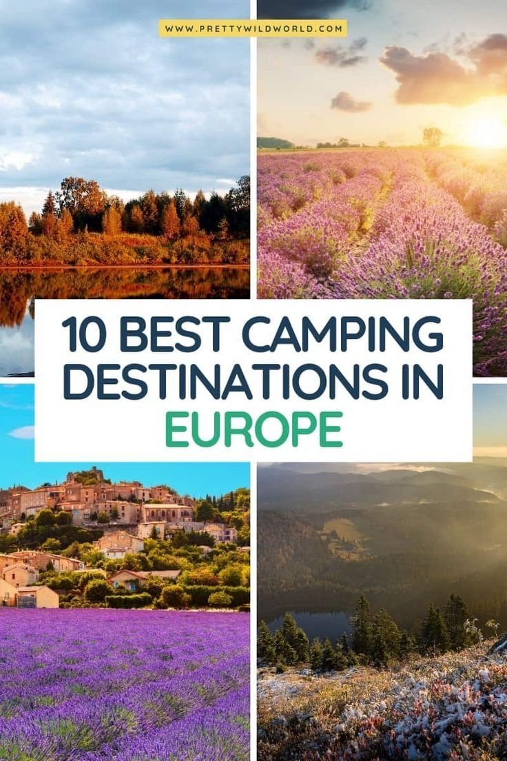 Camping Destinations in Europe   europe travel checklist, travel tips europe, destination europe, explore europe, travel europe, trip to europe, travel to europe, traveling to europe tips, traveling through europe, europe trip #europe #traveldestinations #traveltips #travelguide #travelhacks #bucketlisttravel #amazingdestinations #travelideas #traveltheworld via @prettywildworld