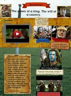 Braveheart Art Braveheart Country En Fight Film Freedom Movie Music Report Glogster Edu 21st Century Multim Epic Film Scottish Warrior Braveheart