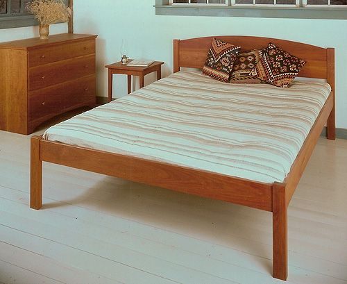 Bissell Woodworking Shaker Platform Bed Queen With Images