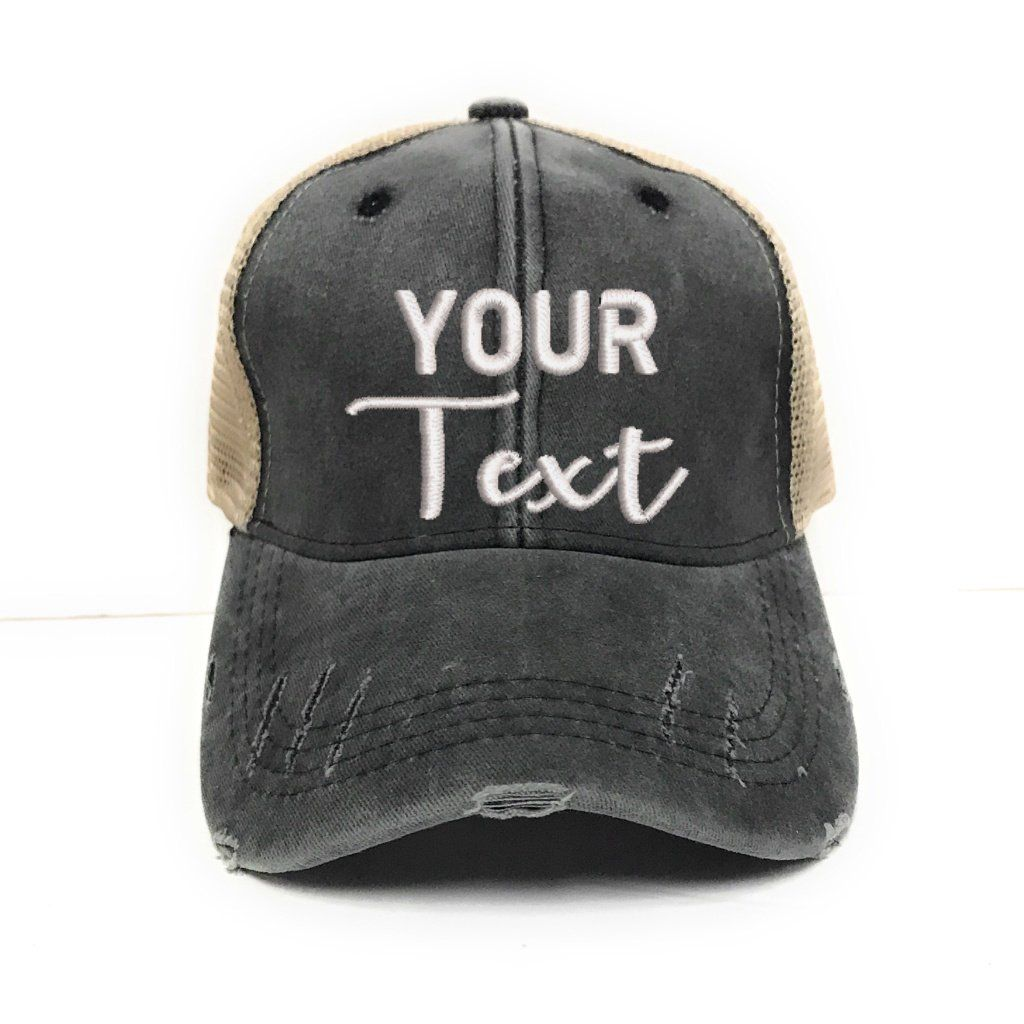 Sale Custom Hat Design Your Own Men Women S Etsy Custom Trucker Hats Hats For Men Mom Hats