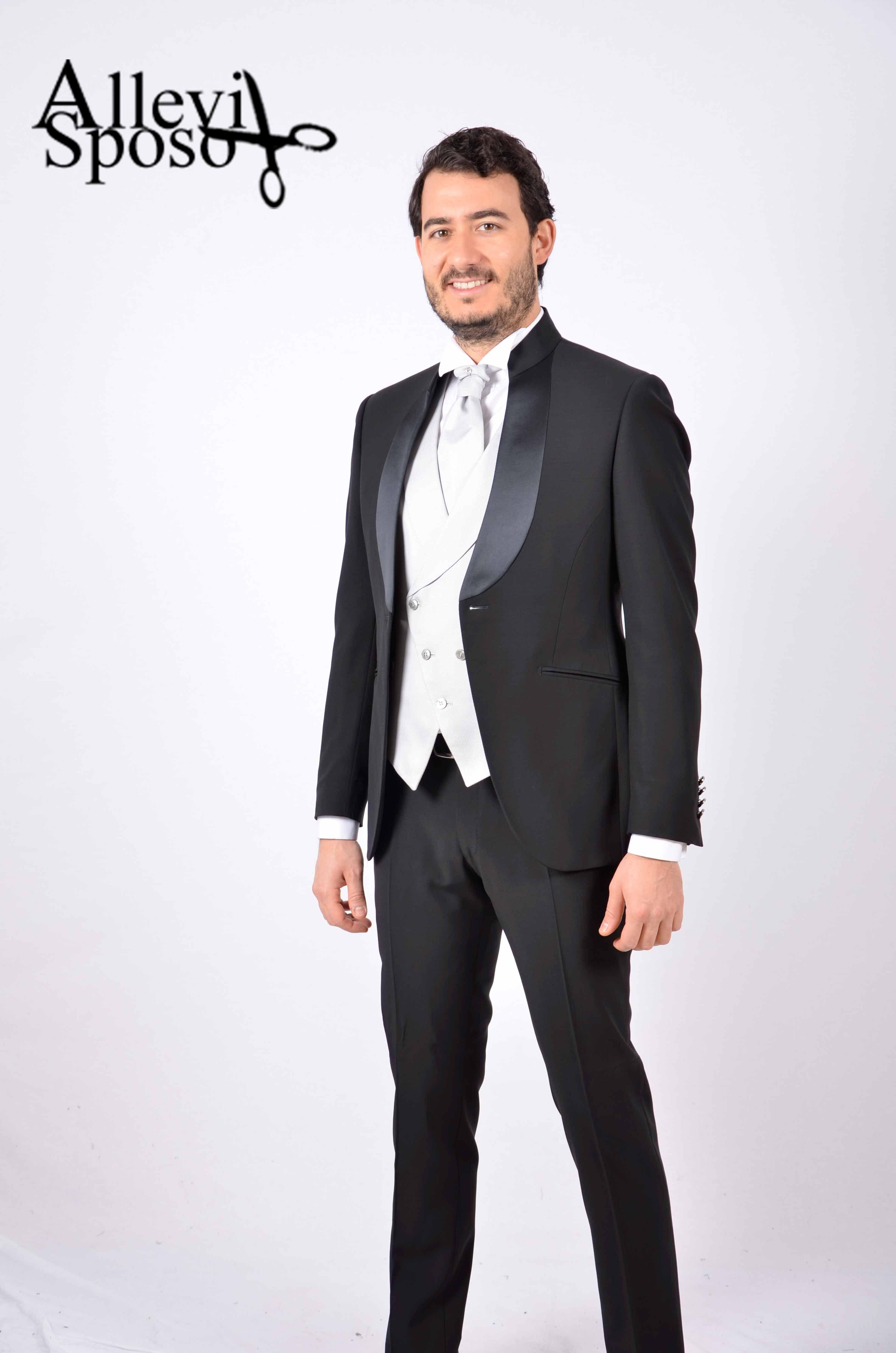 Vestito Da Sposo Lombardia Coreana Nero Suit Jacket Mens Fashion Fashion