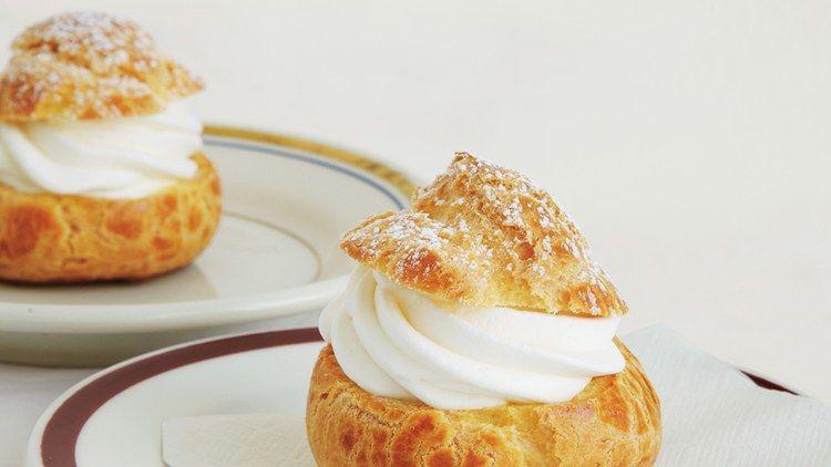 Cream Puffs Recipe   Bon Appetit
