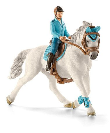 Another great find on #zulily! Tournament Horse Rider Figurine Set by Schleich #zulilyfinds
