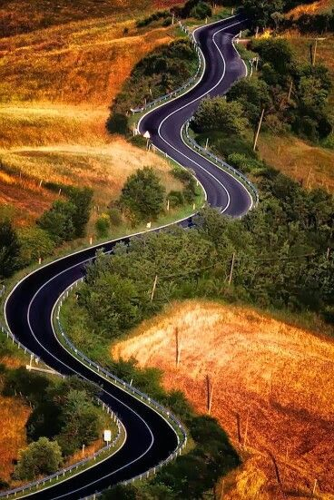 The long winding road