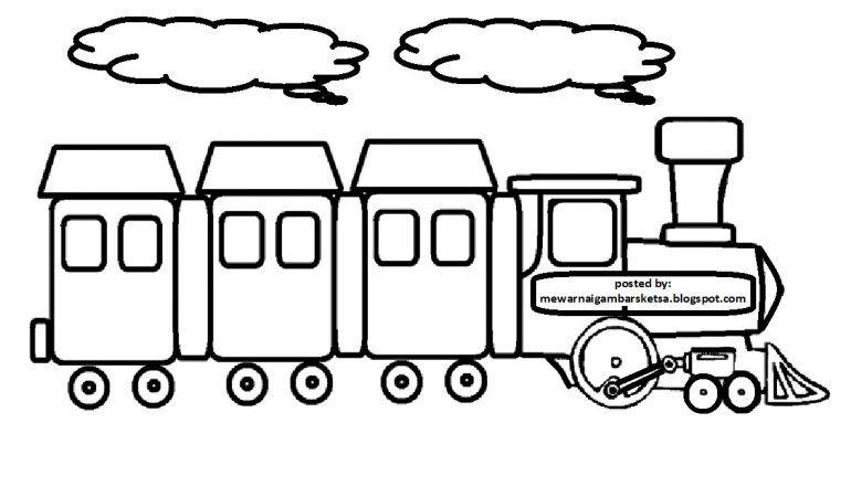 Gambar Mewarnai Mobil Untuk Anak Paud Dan Tk Aneka Gambar Mewarnai Mobil Lucu Gambar Kartun