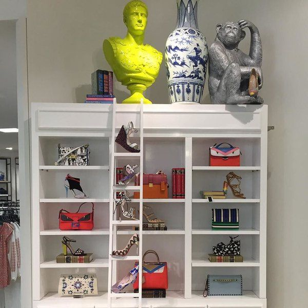 """SAKS FIFTH AVENUE, Dadeland Mall, Miami, FL, """"The most fashionable library in town!"""", pinned by Ton van der Veer"""